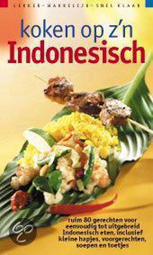 Koken Op Z'N Indonesisch - Joyce Huisman pdf epub