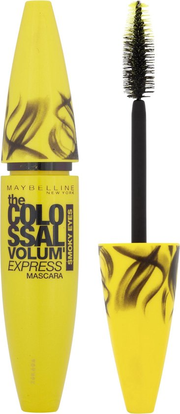 Maybelline Volum'Express The Colossal Go Extreme! Leather Black - Zwart - Volume Mascara - 9,5 ml