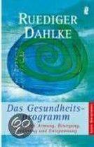 Boek cover Das Gesundheitsprogramm van Ruediger Dahlke