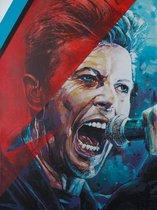 David Bowie canvas (40x60cm)