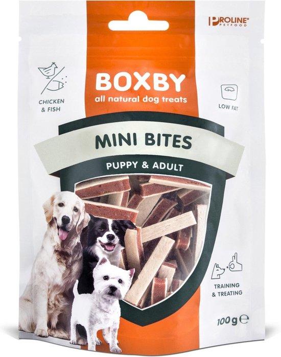 Proline Puppy Boxby Mini Bites - Hondensnacks - 100 g