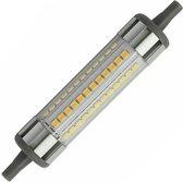 R7s LED lamp | 118x22 mm | 10W=150W | warmwit 2700K | dimbaar