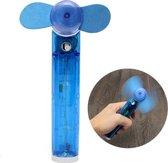 Hand Ventilator Met Water Spray - Mini Ventilator Met Vernevelaar / Bevochtiger / Waterpistool