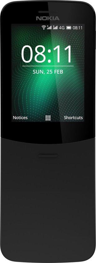 Nokia 8110 - Dual Sim - 4GB - Zwart