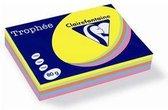 Clairefontaine Trophée - Kopieerpapier- A4 80 gram - Assorti Felle kleuren - 100 vellen