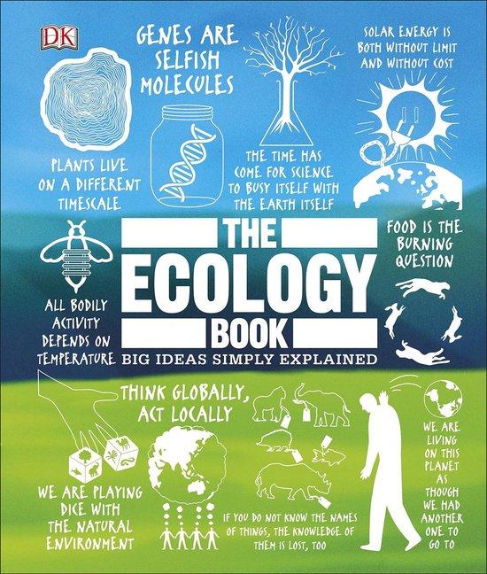 Boek cover The Ecology Book van Dk (Hardcover)