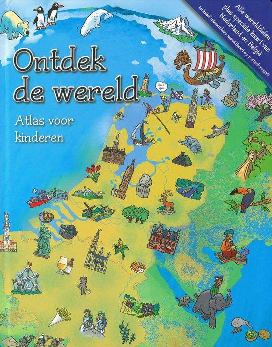 Ontdek De Wereld - Atlas voor kinderen - Schrijver |