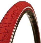 Dutch Perfect No Puncture - Buitenband Fiets - 40-622 / 28 x 1 5/8 x 1 1/2 inch - Rood