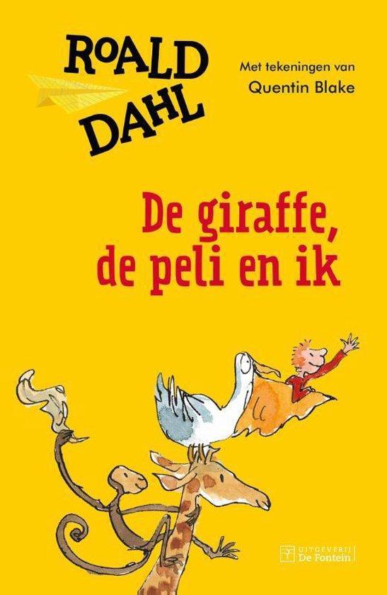 Boek cover De giraffe, de peli en ik van Roald Dahl (Hardcover)