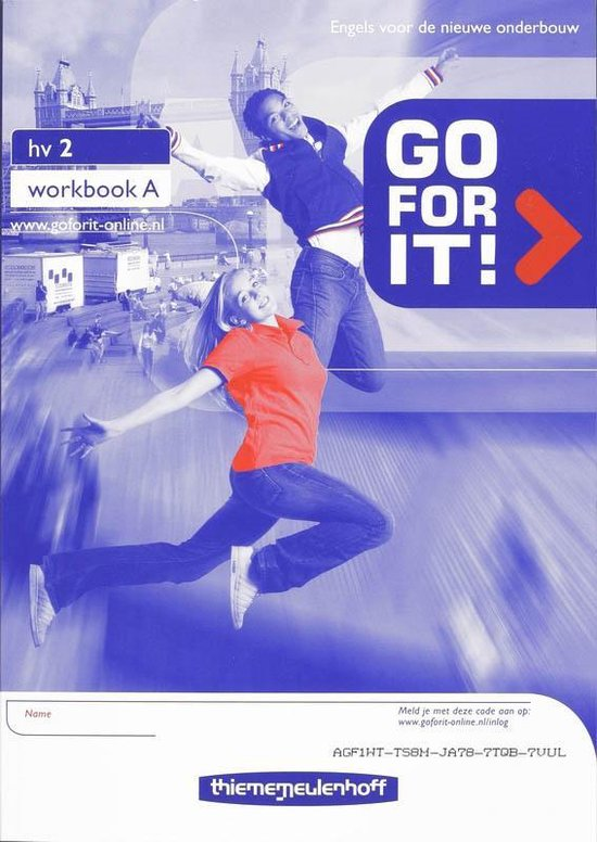 Go for it! 2 Hv Workbook A+B - A. Hulsker |