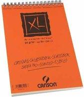 Canson schetsblok XL formaat 21 x 297 cm (A4) blok van 120 blad
