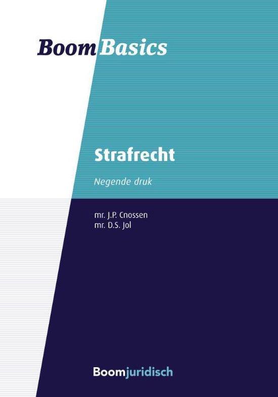 Boom Basics - Strafrecht - J.P. Cnossen |