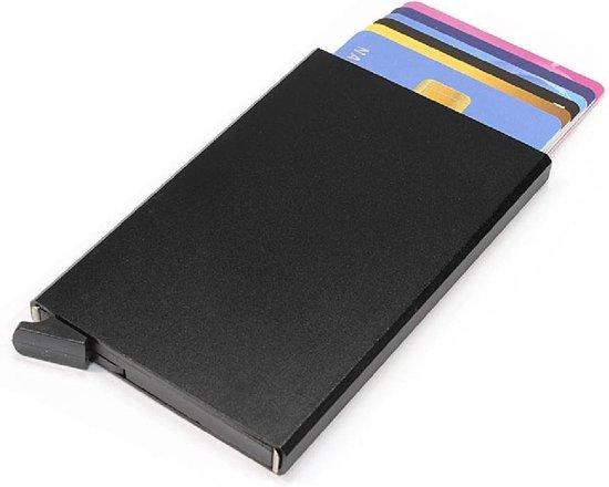 Figuretta Basic Creditcardhouder / RFID Card Protector - 6 Pasjes - Zwart