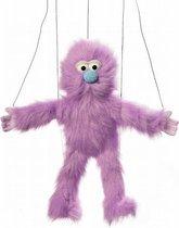 Handpop Paars Monster Marionet Sillypuppets