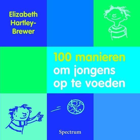 Cover van het boek '100 manieren om jongens op te voeden' van E. Hartley-Brewer