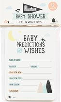 Milestone™ Baby Shower Cards - Over the Moon