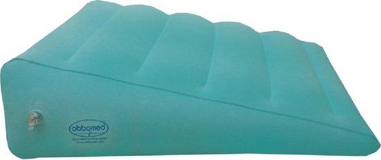 OBBOmed HR-7510 kwaliteit Bedkussen Wigkussen - opblaasbaar kussen in wigvorm - ontlast aandoeningen tijdens liggen en/of zitten -