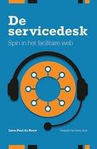 Omslag De Servicedesk, spin in het facilitaire web
