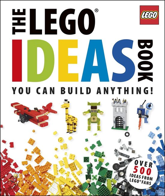 Boek cover The LEGO (R) Ideas Book van Dk (Hardcover)