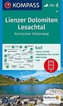 Kompass WK47 Lienzer Dolomiten, Lesachtal