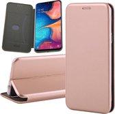 Samsung Galaxy A20e Hoesje - Book Case Flip Wallet - iCall - Roségoud