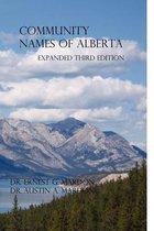 Community Place Names Of Alberta