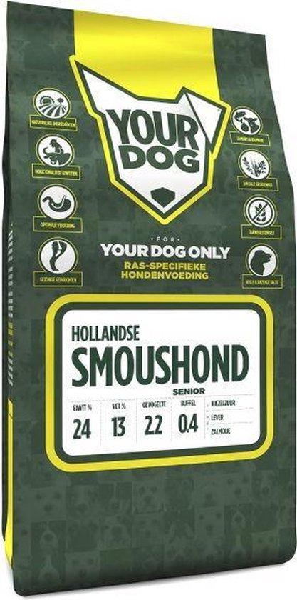Yourdog Hollandse Smoushond Senior - 3 KG