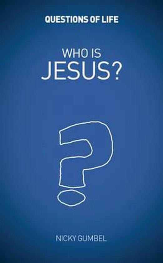 Boek cover Who is Jesus? van Nicky Gumbel (Paperback)