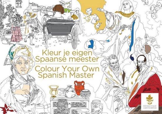 Kleur je eigen Spaanse meester/Colour your own Spanish master - de Hermitage Amsterdam |