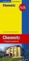 Falk Stadtplan Extra Standardfaltung Chemnitz