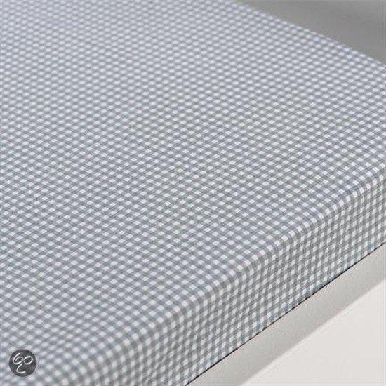 Gabriel kinder hoeslaken - Licht Grijs - 1-persoons (90x200 cm)