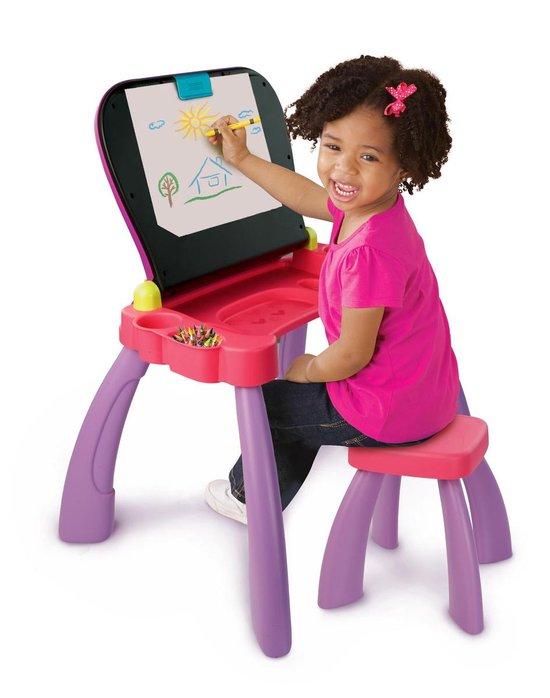 VTech Preschool Mijn Magisch Bureau 3 in 1 Roze - Activity-Center