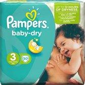 Pampers Luiers - Active Baby Dry - 15 stuks - Maat 3