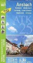 Ansbach 1 : 25 000