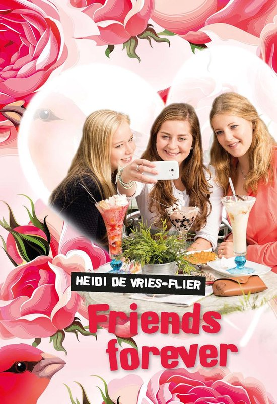 Banier pockets voor de jeugd - Friends forever - Heidi de Vries-Flier |