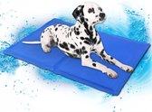 Honden Koelmat - 40x50 cm - M - Blauw