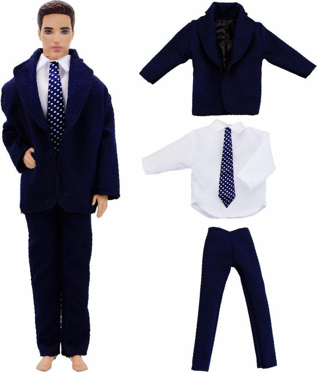 Ongekend bol.com   3-delig kostuum/pak voor mannelijke modepop zoals barbie FJ-95