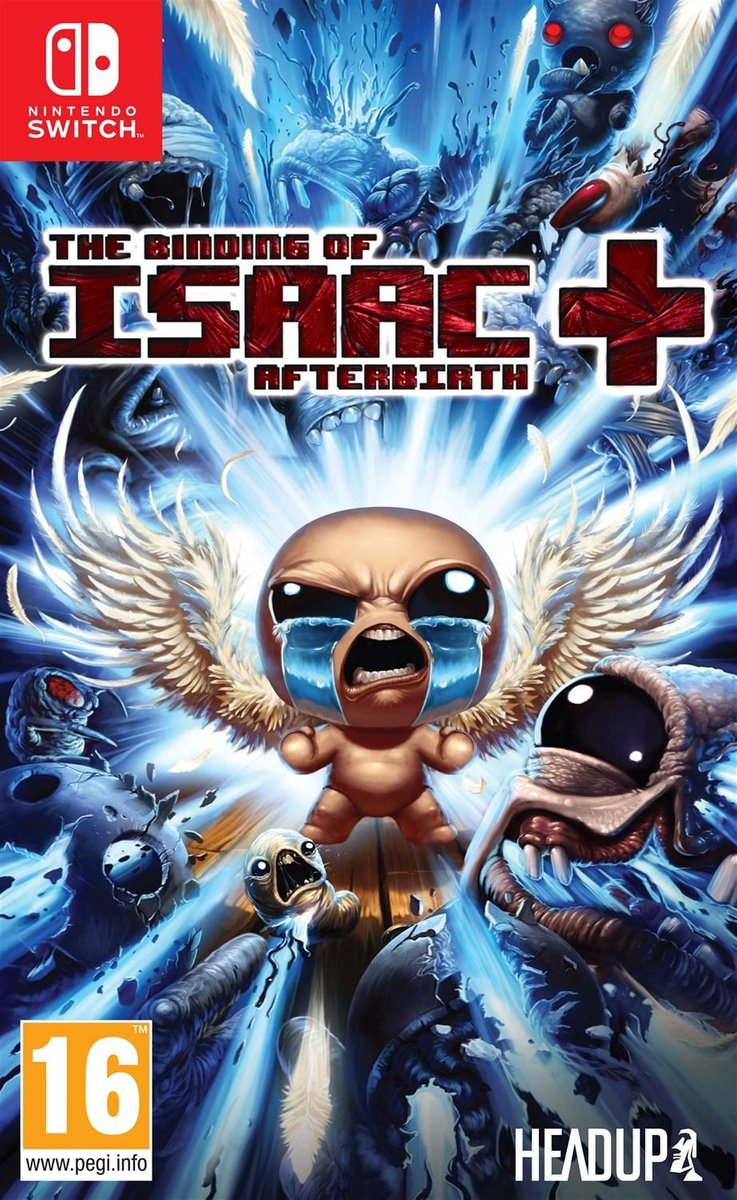 Binding of Isaac Afterbirth + - Switch - Nintendo