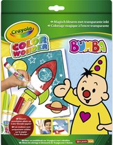 Color Wonder box set Bumba - Kleurboek incl. 5 Stiften