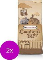 Versele-Laga Country`s Best Cuni Fit Pure - Konijnenkorrel - Konijnenvoer - 2 x 20 kg