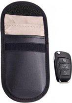 Autosleutel RFID anti-diefstal beschermhoes zwart - klein