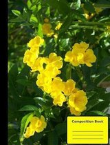 Cats Claw Vine Composition Notebook, Wide Ruled