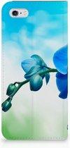 iPhone 6 Hoesje Orchidee Blauw