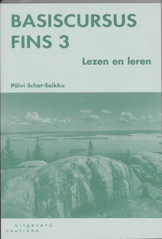 Basiscursus Fins 3 Lezen en leren - P. Schot-Saikku   Fthsonline.com