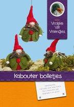 DIY wolvilt pakket: Kabouter bolletjes