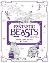 Fantastic Beasts and Where to Find Them - Wonderlijke wezens - kleurboek