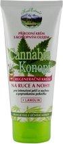 Herb Extract® Voetcrème met Cannabis olie - 200ml - werkt regenererend en ontstekingsremmend, zeer geschikt voor de droge en gebarsten huid.