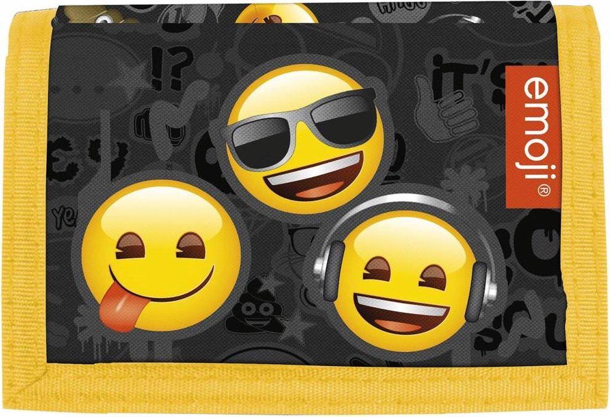 Emoji Unisex Klittenbandportemonnee Multi colour - Emoji