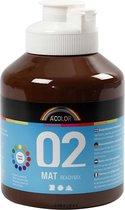 A-Color acrylverf, 500 ml, bruin