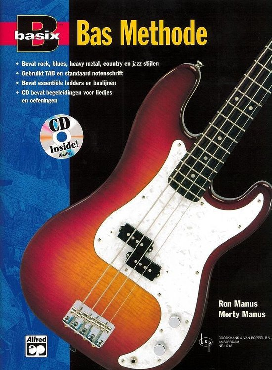 Basix Bas Methode (Boek met gratis Cd) (Nederlandse vertaling) - Ron Manus / Morty Manus pdf epub
